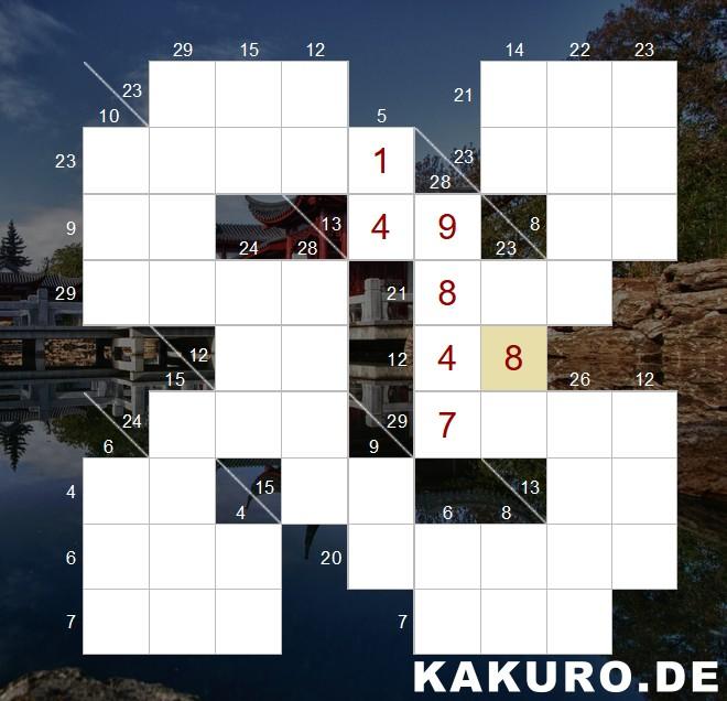 Kakuro Online